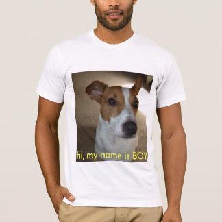 olá!, meu nome é MENINO Tshirts