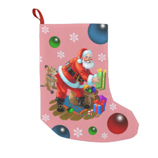 olá! papai noel bota de natal pequena
