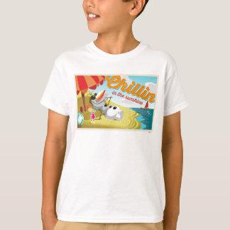 Olaf | Chillin na luz do sol Camisetas