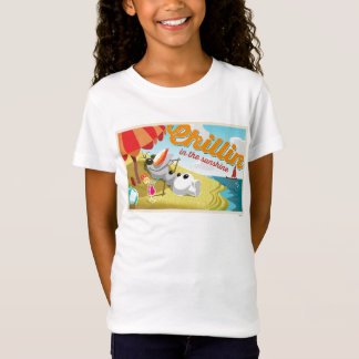 Olaf | Chillin na luz do sol T-shirts