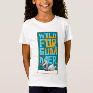 Olaf | selvagem para o verão com círculo camisetas