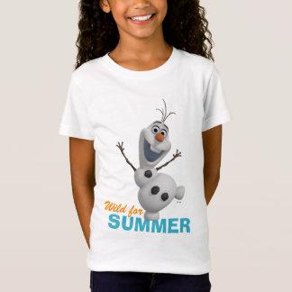 Olaf | selvagem para o verão t-shirt