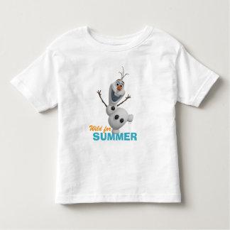 Olaf | selvagem para o verão tshirt