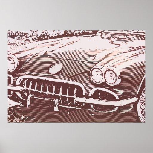 OLD CAR IMPRESSÃO