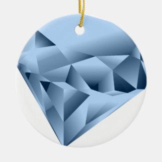 Olha como uma gema ornamento de cerâmica