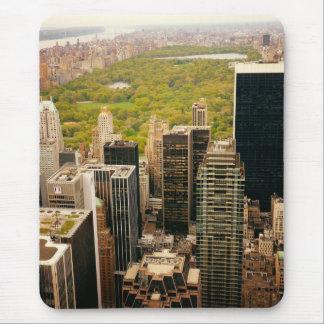 Olhando para fora no Central Park de cima de, NYC Mouse Pad