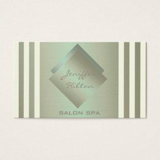 Olhar contemporâneo luxuoso chique elegante do cartão de visitas