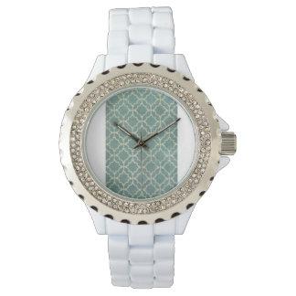 Olhar do papel de parede do vintage dos relógios