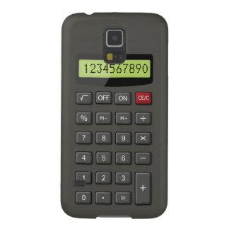 Olhar engraçado da calculadora capa para galaxy s5