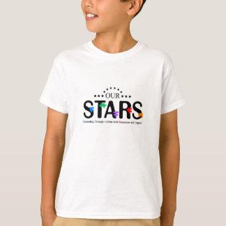Olhar fixamente não curará meu autismo! camisetas