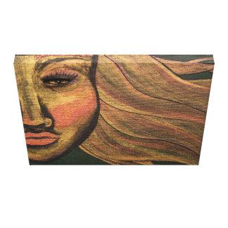 Olhe dentro da pintura acrílica