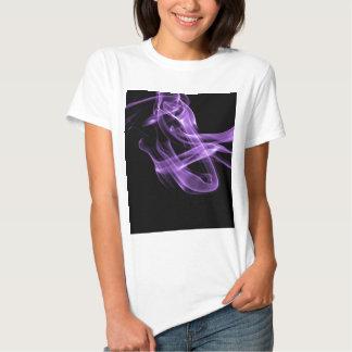 Olhe o fluxo - roxo t-shirt