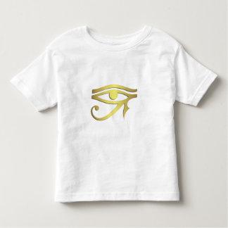 Olho da camisa egípcia da criança do símbolo do