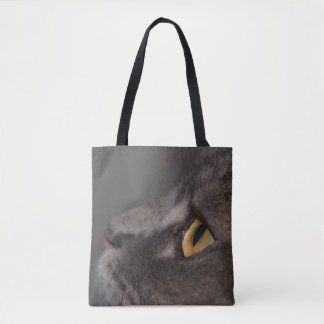 Olho-Macro do gato por Shirley Taylor Bolsa Tote