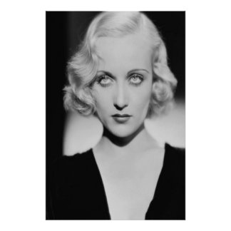 Olhos de Carole Lombard Póster