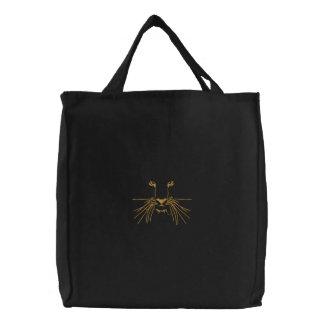 Olhos do tigre bolsa de lona