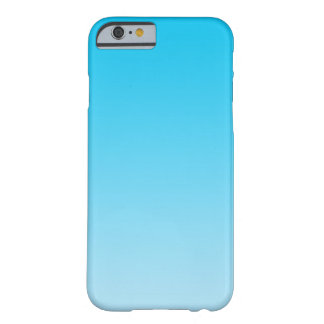 Ombre azul capa barely there para iPhone 6