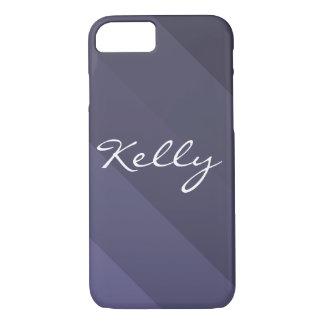 Ombre azul capa iPhone 7