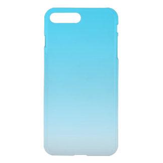 Ombre azul capa iPhone 7 plus