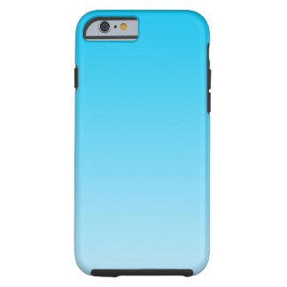 Ombre azul capa tough para iPhone 6