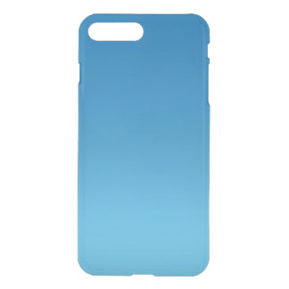 Ombre azul escuro capa iPhone 7 plus