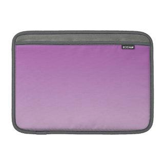 Ombre roxo macio bolsas de MacBook air