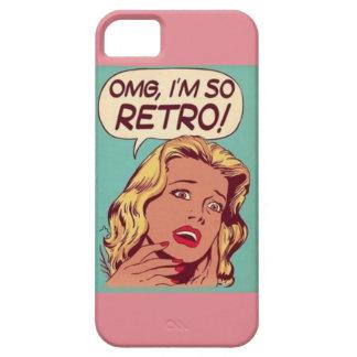 omg! m tão retro! capa para iPhone 5
