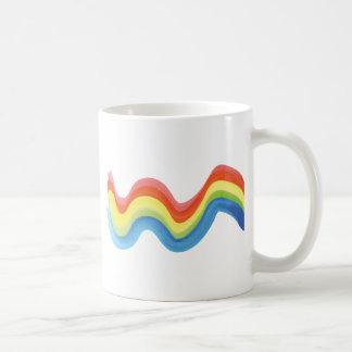 Onda da cor caneca de café
