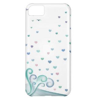 Onda do coração capa para iPhone 5C