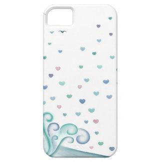 Onda do coração capas de iPhone 5 Case-Mate