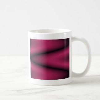 Onda preta e brilhante da cereja caneca de café
