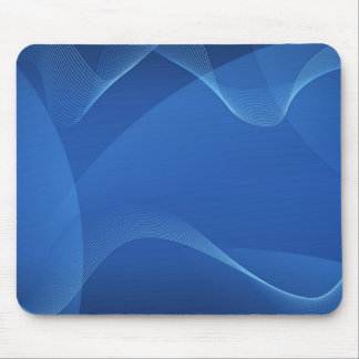 Ondas azuis mouse pad
