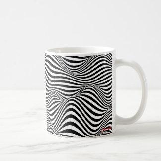ondas caneca de café