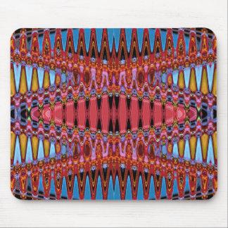 Ondas de espaço psicadélicos mouse pad