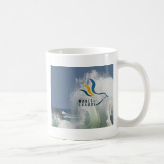 Ondas do copo de café 2 da mudança caneca de café