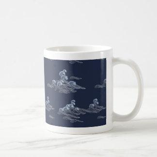 Ondas do mar caneca de café