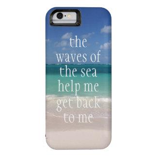 Ondas inspiradores inspiradas das citações do mar
