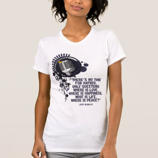 Onde está a paz? camisetas