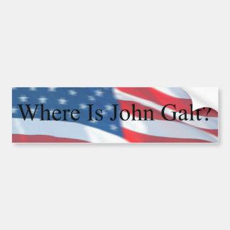 ONDE ESTÁ JOHN GALT-FLAG ADESIVOS