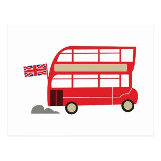 Ônibus de Londres Cartão Postal