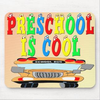 Ônibus legal do pré-escolar mousepad