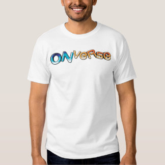 Onverse coube o T do logotipo T-shirt