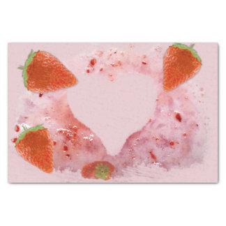 Oops, confusão da morango! papel de seda