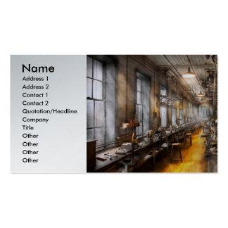 Operador - a oficina velha do papai noel cartão de visita