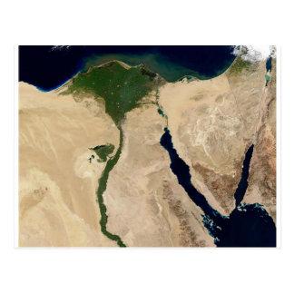 Opinião aérea de Egipto Cartões Postais