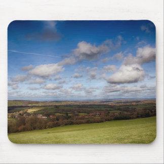 Opinião da paisagem mouse pad