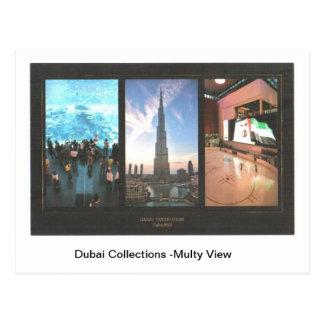 Opinião de Multy das coleções de Dubai Cartão Postal