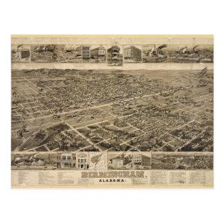 Opinião de olho de pássaro de Birmingham Alabama Cartão Postal
