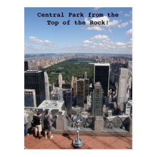 Opinião do Central Park Cartão Postal