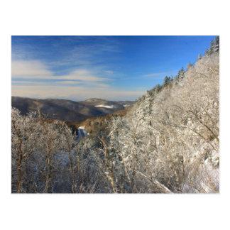 Opinião do inverno de Gap do Appalachian Cartão Postal